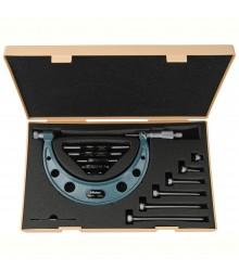 Micrômetro Externo  0-150mm  0,01mm Com Batentes Intercambiáveis 104-135A