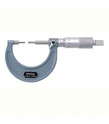 Micrômetro Externo 0-25mm  0,01mm Com Pontas Finas 111-115