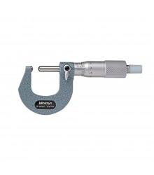 Micrômetro Externo 0-25mm  0,01mm Para Tubo Com Batente e Ponta Esféricos 115-215