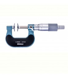 Micrômetro Externo 0-25mm  0,01mm Tipo Disco 123-101