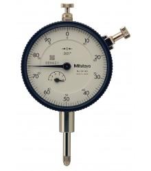 """Relógio Comparador Modelo Padrão Tampa Com Orelha .5""""/ .001"""" – 2414S"""