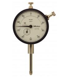 """Relógio Comparador Modelo Com Curso Longo Tampa Com Orelha 1""""/ .001"""" – 2416S-10"""