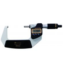 Micrômetro Externo Digital 50-75 mm  0,001 mm QuantuMike Com Saída de Dados  Fuso com Avanço Rápido  293-142-30