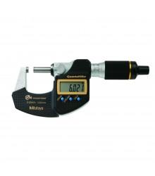 """Micrômetro Externo Digital """"QuantuMike"""" 0-25mm/0,001 Sem Saída de Dados – Fuso com Avanço Rápido  – 293-145-30"""