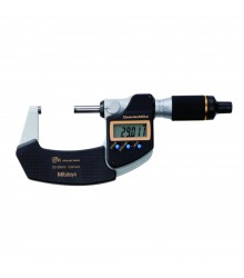 """Micrômetro Externo Digital """"QuantuMike"""" 25-50mm/0,001mm Sem saída de dados – Fuso com Avanço Rápido  – 293-146-30"""