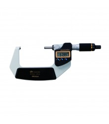 """Micrômetro Externo Digital """"QuantuMike"""" 50-75mm/0,001mm Sem saída de dados – Fuso com Avanço Rápido – 293-147-30"""