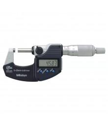 Micrômetro Externo Digital 0-25mm/0,001mm Sem Saída de Dados Com Catraca Integrada - ProteçãoIP65 – 293-244-30