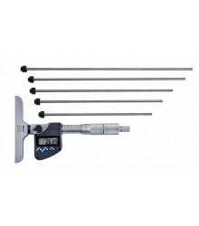 Micrômetro de Profundidade Digital (Com Hastes Intercambiáveis 6 Peças) 0-150mm/0,001mm – 329-250-30