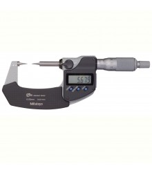 Micrômetro Externo Digital  0-25mm  0,001mm Com Pontas Cônicas 342-251-30