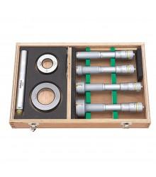 Jogo de Micrômetros Internos Analógicos de Três Pontas (Incluso Anel Padrão e Haste Extensora) - Holtest - 20-50mm/0,005mm – 368-913
