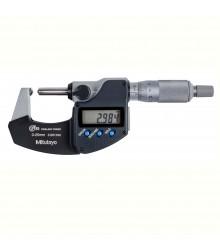Micrômetro Externo Digital 0-25mm  0,001mm Para Tubos Com Batente e Ponta Esféricos 395-271-30