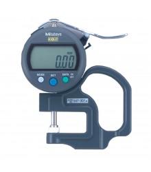 Medidor de Espessura Manual Digital Modelo Padrão 10mm/0,01mm – 547-301