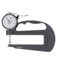 Medidor de Espessura Manual Analógico Com Arco Profundo e Faces de Cerâmica 20mm/0,10mm – 7323