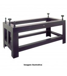 Suporte para Desempeno de Granito 560 x 430 x 850 mm – 156-833