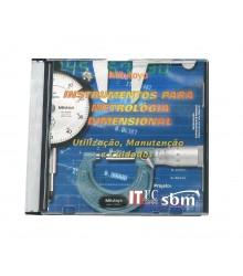TR-110 - CD de Treinamento interativo sobre instrumentos para Metrologia Dimensional Mitutoyo / ITUC - Instituto Tecnológico da PUC - RJ