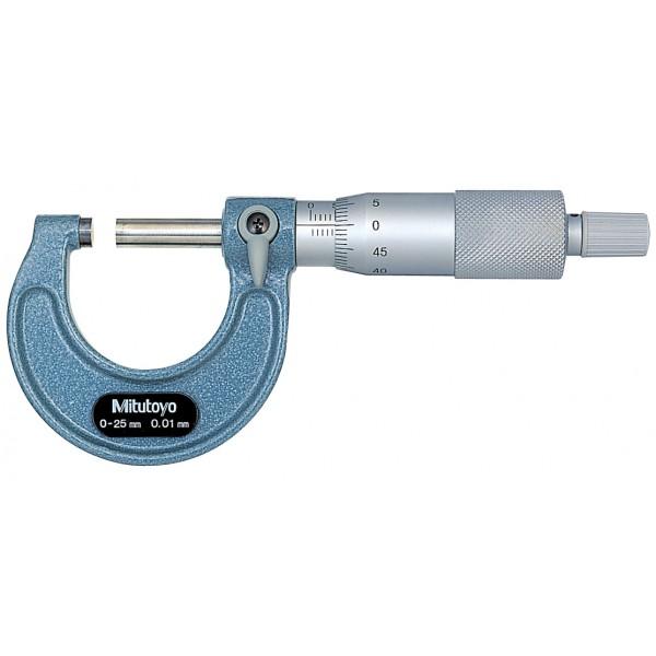 Micrômetro Externo 0-25mm 0,01mm 103-137