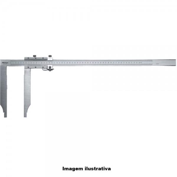 Paquímetro Analógico de Bico Longo Série 534 – 534-107