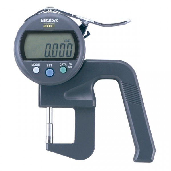 Medidor de Espessura Manual Digital 12mm 0,001mm Modelo Alta Exatidão 547-401