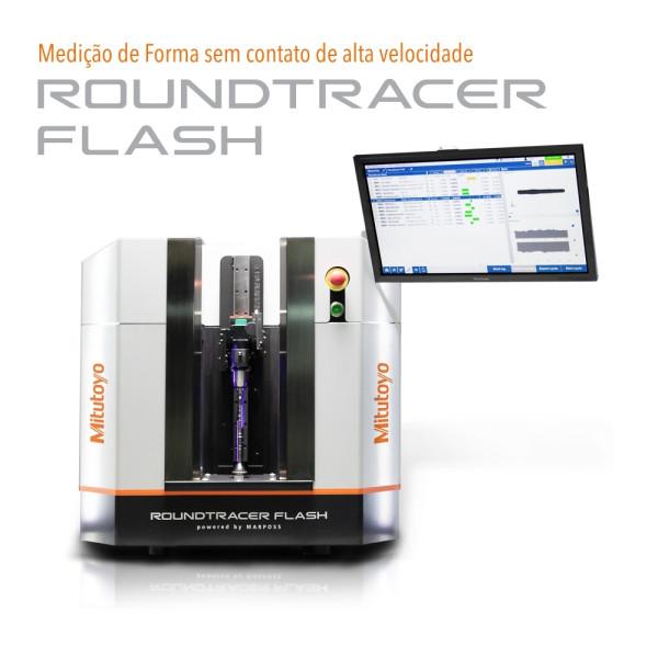 Roundtracer Flash - Medição de Forma sem contato de alta velocidade