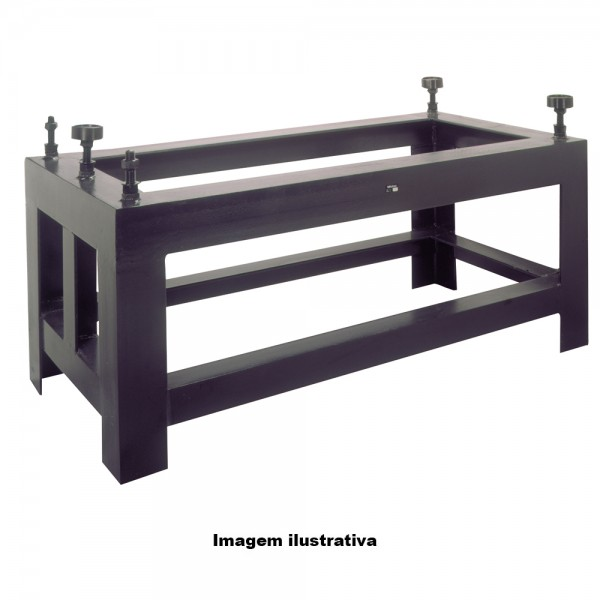 Suporte para Desempeno de Granito 695 x 495 x 820 mm – 156-835