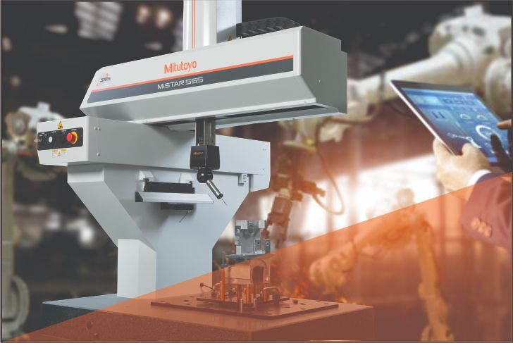 Solução inovadora para medição em chão de fábrica Mistar 555